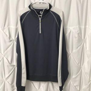 FOOTJOY Golf  Long Sleeve 1/4 zip Pullover Medium